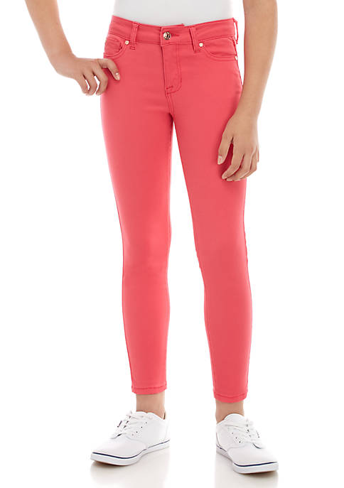 Girls 7-16 Skinny Colored Jeans