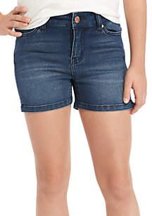 Five Pocket Clean Denim Shorts Girls 7-16