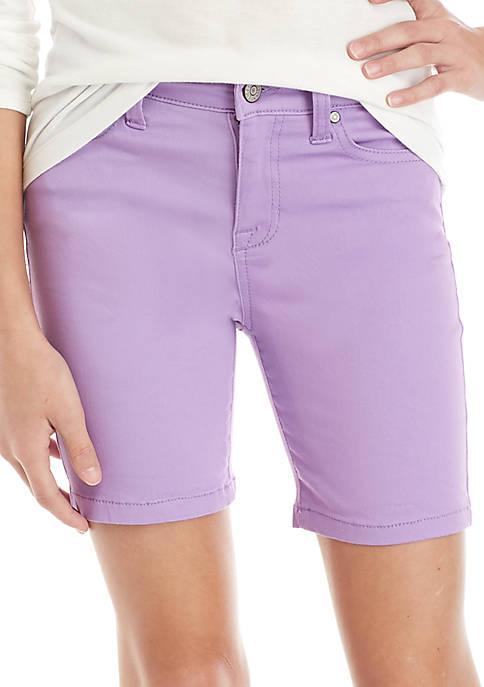 Celebrity Pink Girls 7-16 Color Bermuda Shorts