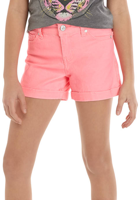 Celebrity Pink Girls 7-16 Colored Shorts