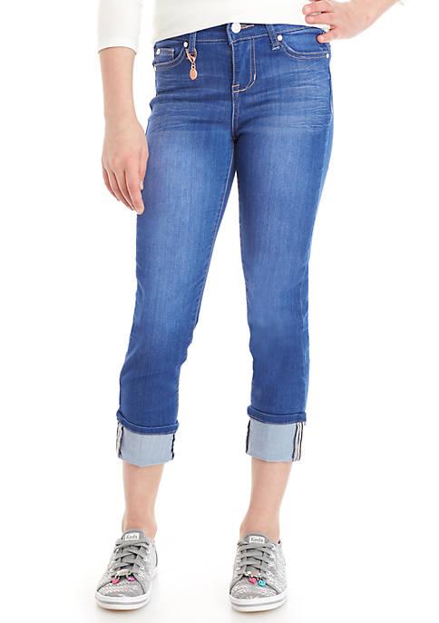 Celebrity Pink Girls 7-16 Maxson Cuffed Crop Jeans