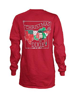 Christmas In Dixie Shirt.Royce Christmas In Dixie Long Sleeve Tee Girls 4 6x Belk