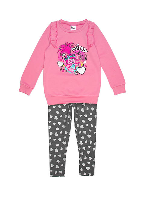DreamWorks Trolls™ Girls 2-6x Trolls Long Sleeve Legging