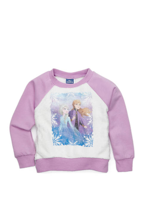 Disney® Girls 4-6x French Terry Woobie Graphic Pullover