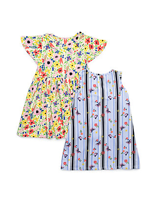 acdc1feeb Forever Me. Forever Me Girls 4-6x Yummy Floral and Butterfly Print Dress Set