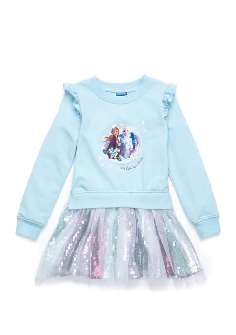 Disney® Frozen 2 Girls 4-6x Frency Terry Dress