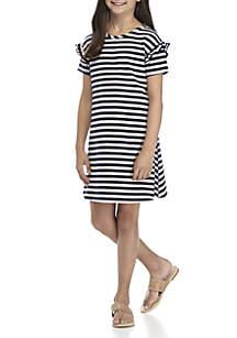 Girls 7-16 Promo Swing Dress