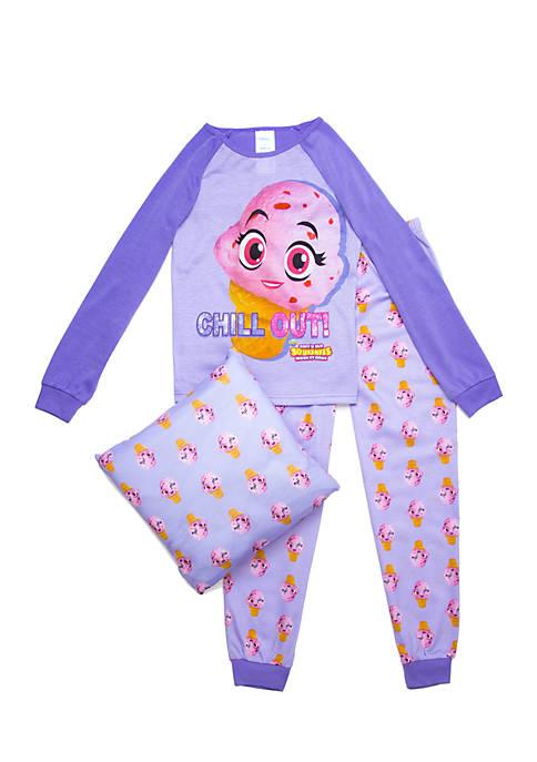 Girls 4-16 Squishies Pajama Set