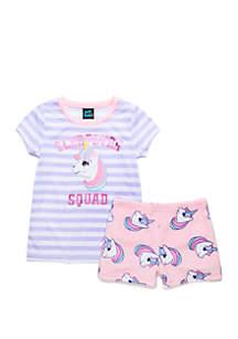 Jellifish Kids Girls 4-16 2 Piece Pajama Set