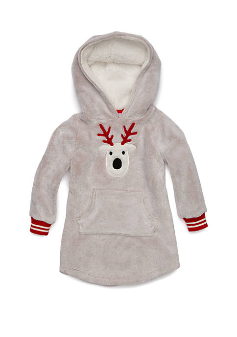 Crown & Ivy™ Girls 7-16 Cozy Christmas Pullover