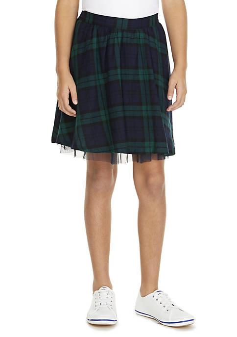 Crown & Ivy™ Girls 7-16 Skater Skirt
