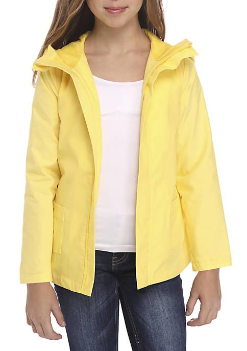 Crown & Ivy™ Girls 7-16 Long Sleeve Rain