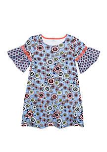 Crown & Ivy™ Girls 7-16 Crochet Dress