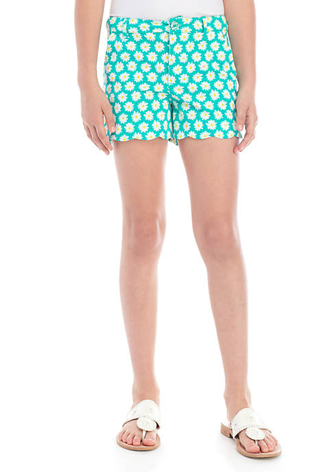 Crown & Ivy™ Girls 7-16 Printed Shorts