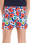 Girls 7-16 Printed Twill Shorts