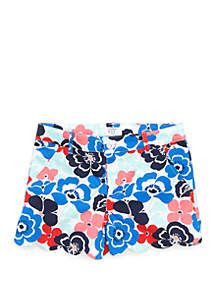 Crown & Ivy™ Girls 7-16 Shelby Scallop Hem Shorts