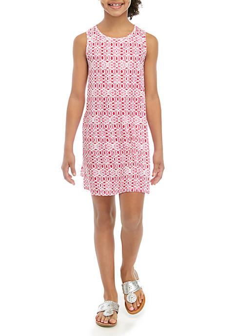 Crown & Ivy™ Girls 7-16 Printed Dress