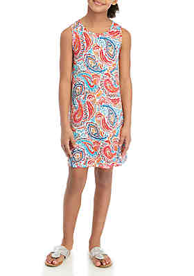 ed3c6a56622840 Crown   Ivy™ Girls 7-16 Printed Dress ...