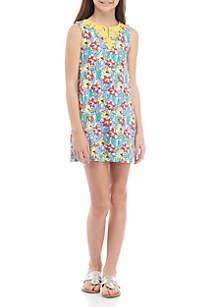Crown & Ivy™ Girls 7-16 Sleeveless Kurta Dress