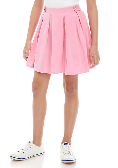 Crown & Ivy™ Girls 7-16 Pleated Skirt