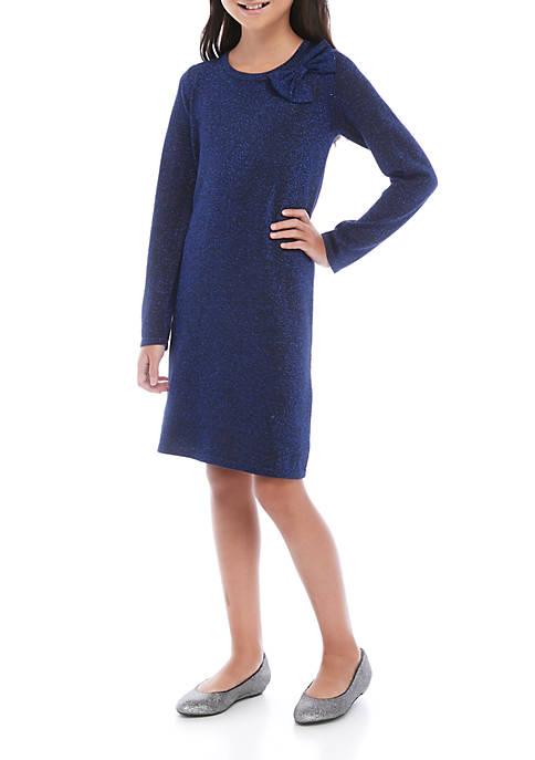 Crown & Ivy™ Girls 7-16 Sweater Dress