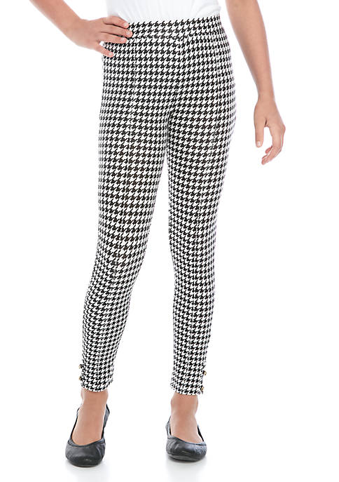 Crown & Ivy™ Girls 7-16 Button Pants