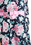 Girls 7-16x Bow Front Dress