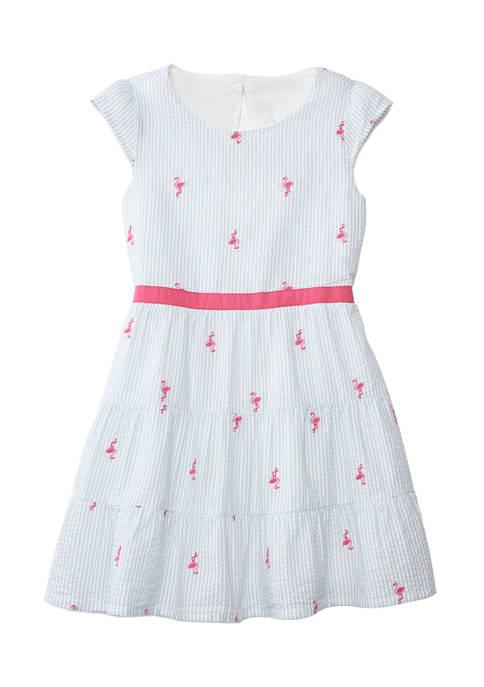 Crown & Ivy™ Girls 7-16 Tiered Dress