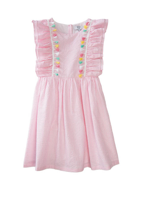 Crown & Ivy™ Girls 7-16 Yarn Dye Dress