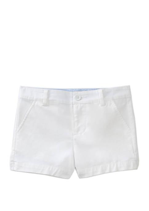 Girls 7-16 Straight Hem Shorts