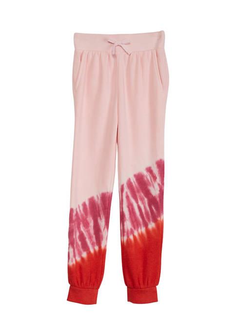 Girls 4-8 Tie Dye Sweatpants
