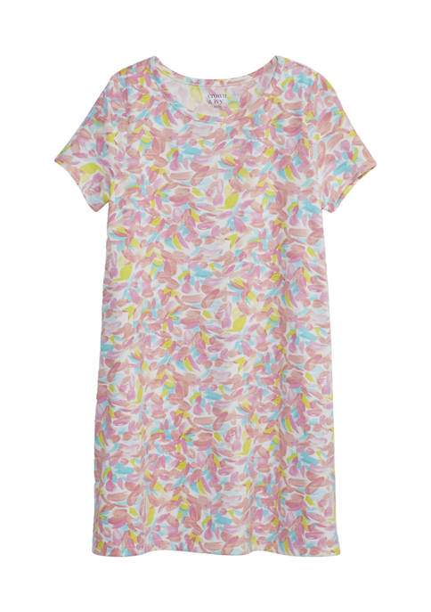 Crown & Ivy™ Girls 4-6x Tie Dye T-Shirt