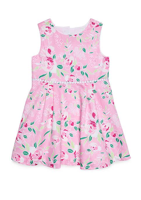 Crown   Ivy™ Girls 4-8 Bow Back Dress 67ea4106d