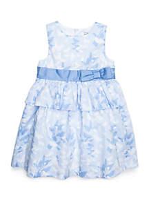 Crown & Ivy™ Girls 4-8 Peplum Party Dress
