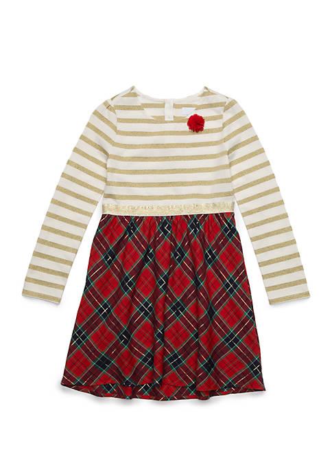 Crown & Ivy™ Girls 4-6x Knit Dress