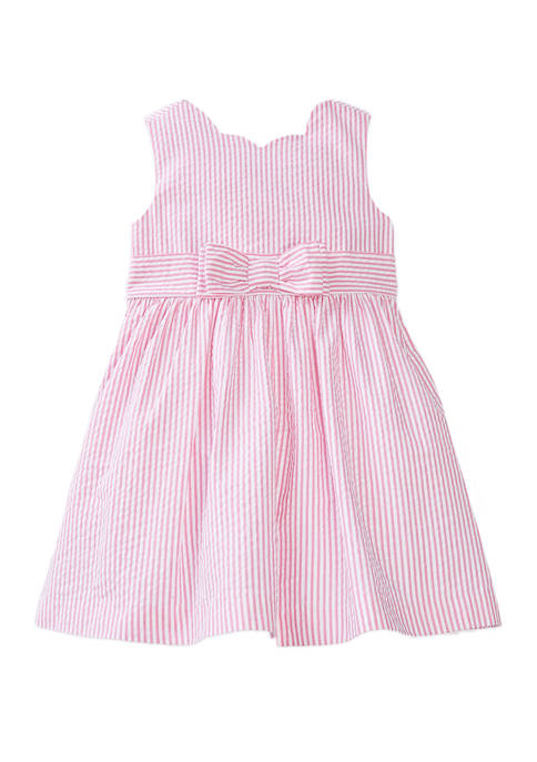 Crown & Ivy™ Girls 4-6x Bow Front Dress