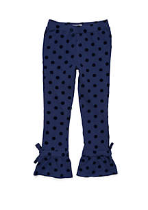 Girls 4-8 Ruffle Ankle Pants