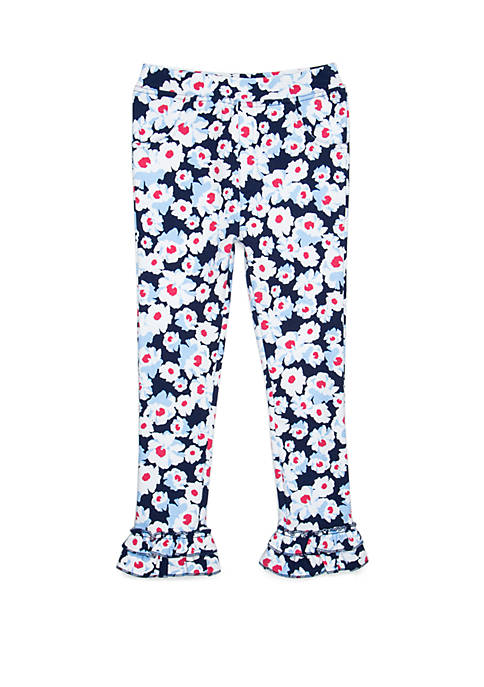 Crown & Ivy™ Girls 4-8 Double Ruffle Bottoms