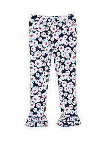 Girls 4-8 Double Ruffle Bottoms