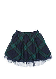 Crown & Ivy™ Girls 4-8 Woven Tulle Skirt