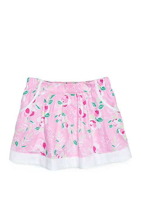 Crown & Ivy™ Girls 4-8 Skirt with Pockets