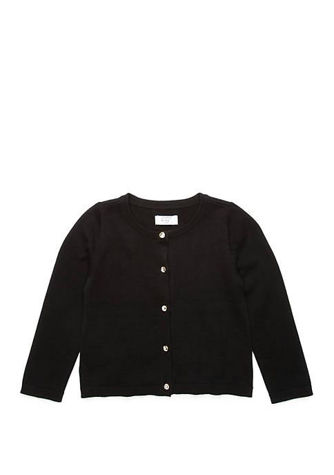 Crown & Ivy™ Girls 4-6x Basic Cardigan
