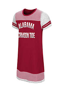 Girls 7-16 Alabama Don't Be Talkin Mesh Dress