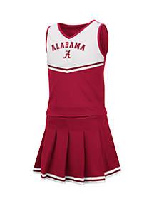 Colosseum Athletics Girls 7-16 Alabama Crimson Tide Cheer Set