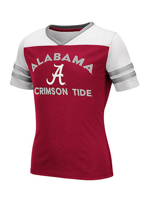 Girls 7-16 Alabama Crimson Tide Short Sleeve T Shirt