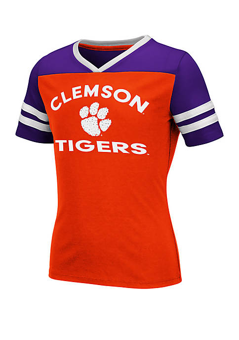 Girls 7-16 Clemson Tigers Short Sleeve T Shirt