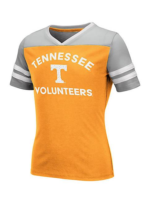 Colosseum Athletics Girls 7-16 Tennessee Volunteers Short Sleeve