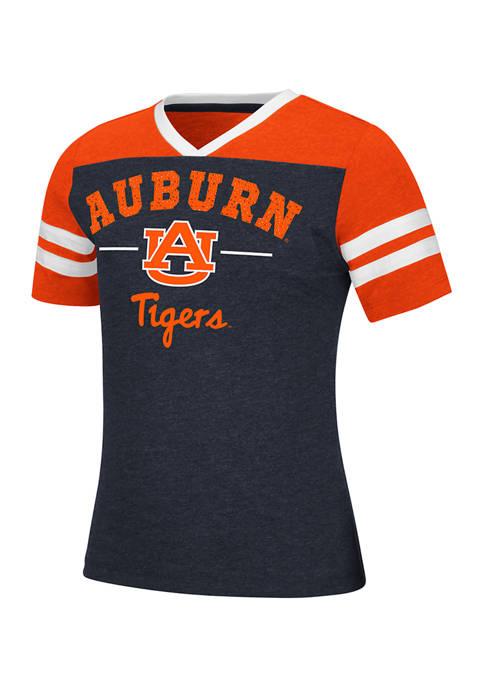 Colosseum Athletics Girls 7-16 NCAA Auburn Tigers Pearl