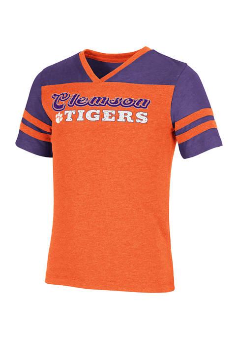Colosseum Athletics Girls 7-16 NCAA Clemson Tigers Aloha