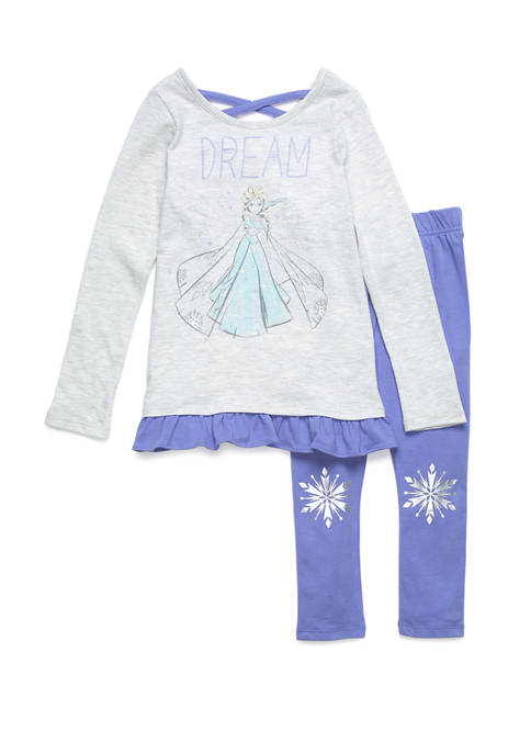 Girls 4-16 Long Sleeve Dream Elsa Set